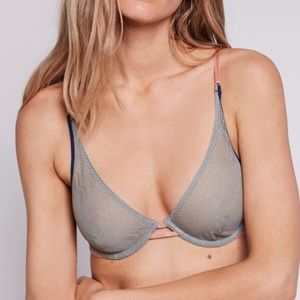 Free People Rise Over Run Underwire Bra 32C
